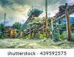 heavy industry | Shutterstock . vector #439592575