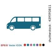 bus icon | Shutterstock .eps vector #439593811