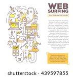 vector creative concept... | Shutterstock .eps vector #439597855