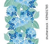 elegant seamless pattern with...   Shutterstock .eps vector #439601785