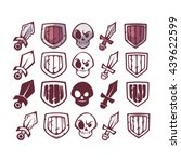 vector game icons set  sword ...