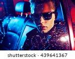 handsome fashionable yonug man...   Shutterstock . vector #439641367