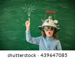 back to school. schoolchild... | Shutterstock . vector #439647085