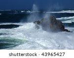 Sea To The Breton Coast Near...