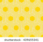 seamless striped geometric...   Shutterstock .eps vector #439655341