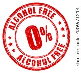 alcohol free rubber stamp... | Shutterstock .eps vector #439671214
