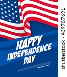 fourth of july independence day | Shutterstock .eps vector #439707691