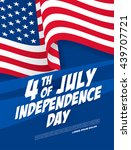 fourth of july independence day | Shutterstock .eps vector #439707721