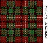 tartan seamless pattern. trendy ... | Shutterstock .eps vector #439711861