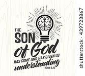 biblical illustration.... | Shutterstock .eps vector #439723867
