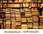 used books in the bookstore | Shutterstock . vector #439730185
