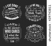 vector collection of quote... | Shutterstock .eps vector #439743811