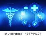 2d medical logo   Shutterstock . vector #439744174