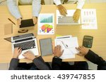 group of business starup man... | Shutterstock . vector #439747855