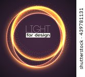 Abstract Ring Background With...