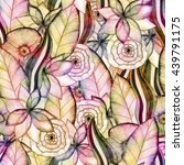 Floral Watercolor Seamless...