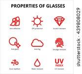 vector eye care  glasses...   Shutterstock .eps vector #439808029