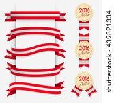 World Flag Ribbon   Vector...