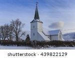 lodingen church  a parish... | Shutterstock . vector #439822129