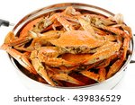 Steamed Crab In Steaming Pot