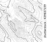 topographic map background... | Shutterstock .eps vector #439837159