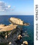 zafer burnu. the easternmost... | Shutterstock . vector #439862785