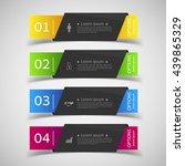 design infographics number...   Shutterstock .eps vector #439865329