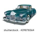 vintage car | Shutterstock .eps vector #439878364