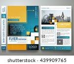 flyers design template vector.... | Shutterstock .eps vector #439909765