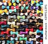 bow tie handmade | Shutterstock . vector #439911391