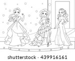 Vector Coloring Book Of...