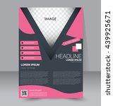 abstract flyer design... | Shutterstock .eps vector #439925671