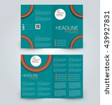 abstract flyer design... | Shutterstock .eps vector #439927831