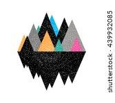 geomerty dezign composition... | Shutterstock .eps vector #439932085