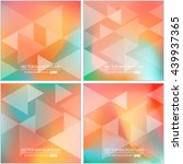 abstract creative concept... | Shutterstock .eps vector #439937365