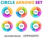 vector circle arrows... | Shutterstock .eps vector #439940095
