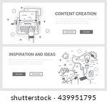 vector concept  a set of... | Shutterstock .eps vector #439951795