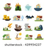 color and isolated disaster... | Shutterstock .eps vector #439954237
