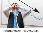 bad investment or economic... | Shutterstock . vector #439959331
