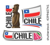 Vector Logo Chile  3 Isolated...