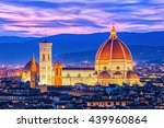 the duomo of florence in... | Shutterstock . vector #439960864