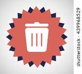 recycle bin icon | Shutterstock .eps vector #439968529