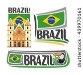 vector logo brazil architecture ... | Shutterstock .eps vector #439970161
