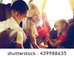 family  transport  safety  road ... | Shutterstock . vector #439988635