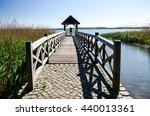 wooden bridge | Shutterstock . vector #440013361