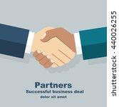 Handshake Isolated. Symbol Of ...