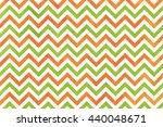 Watercolor Orange And Green...