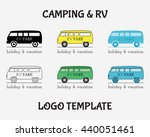 outdoor activity travel logo... | Shutterstock . vector #440051461
