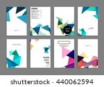 geometric cover background ...   Shutterstock .eps vector #440062594