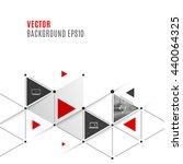 vector abstract background... | Shutterstock .eps vector #440064325